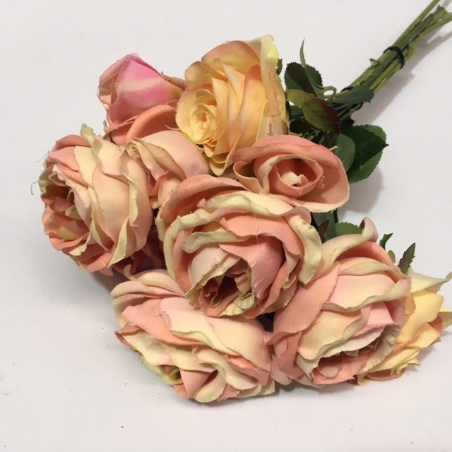 FLO0095 FLOWER, Rose - Soft Pink $1.25