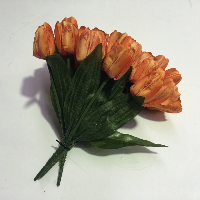 FLO0100 FLOWER, Tulip - Orange Small $2