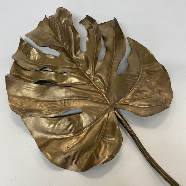 GRE0070 GREENERY, Foliage - Split Philo - Gold $3 & GRE0012 Gold Small 52cm L $2.50