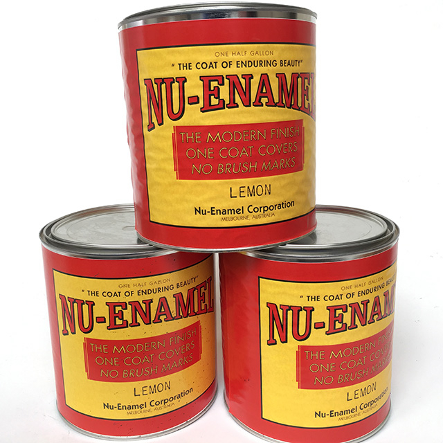 CAN0336 CAN, Paint Can w Generic Label - Nu Enamel (Large) $7.50