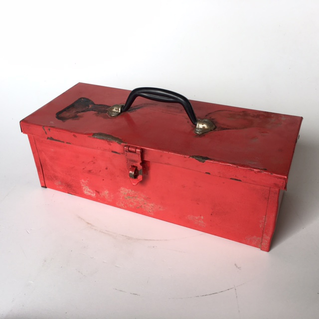 TOO0022 TOOL BOX, Small Red $7.50