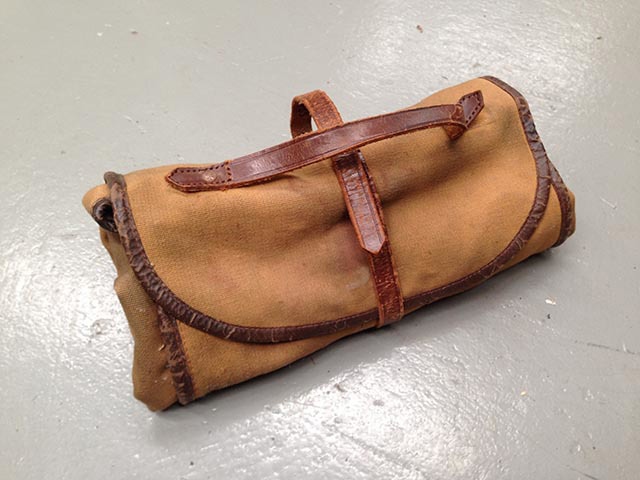 TOO0033 TOOL ROLL, Tan Canvas With Tools $22.50