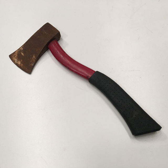 TOO0050 TOOL, Axe - Short Red Handle $7.50