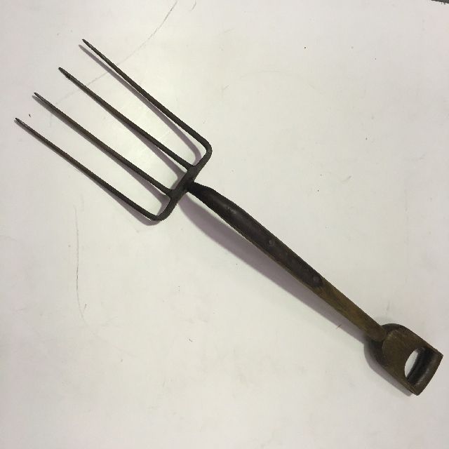 TOO0086 TOOL, Fork - Wooden Handle $15