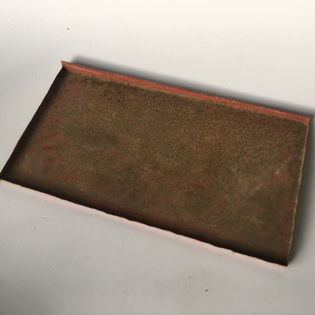 TRA0010 TRAY, Old Metal Drip Tray $3.75