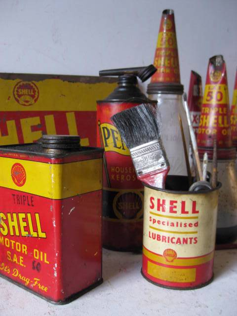 Classic Shell Branded Props