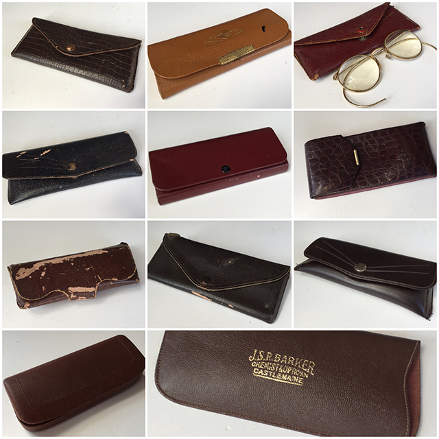 GLA1002 GLASSES, Sunglass Cases - Leather $6.25