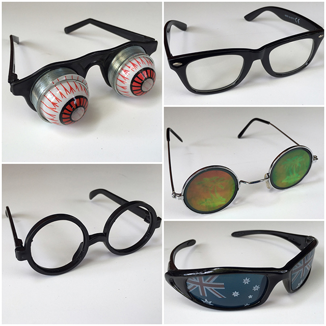 GLA1004 GLASSES, Novelty Glasses $3.75