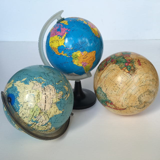 Assorted Small Globes