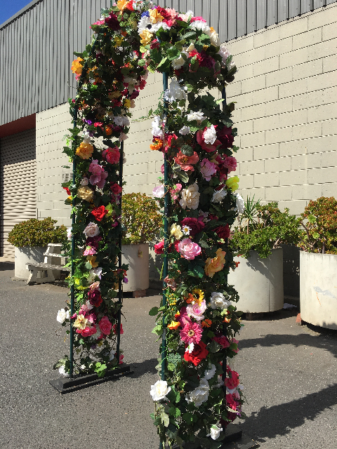 ARC0001 ARCH, Floral Garden Arbour Colourful $100
