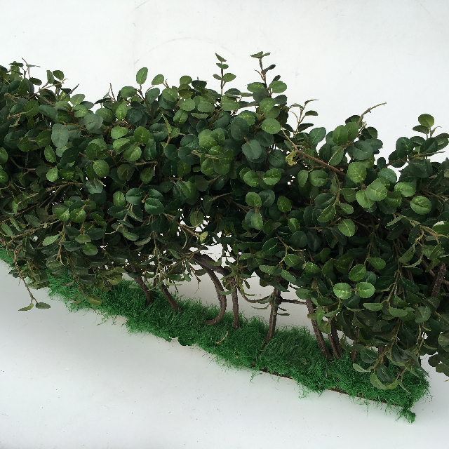 GRE0018 GREENERY, Box Hedge 1m Curved Section $20