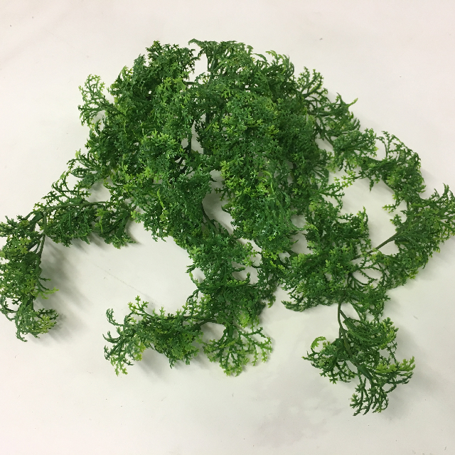 GRE0066 GREENERY, Moss Vine - Light Green 32cm $1.50