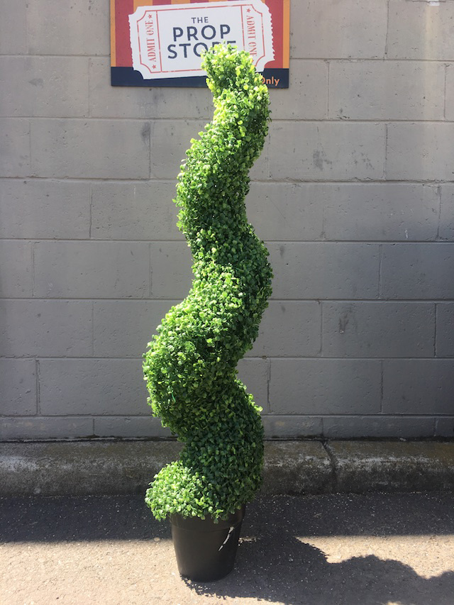 GRE0067 GREENERY, Topiary - Boxwood Spiral - 120cm H $37.50