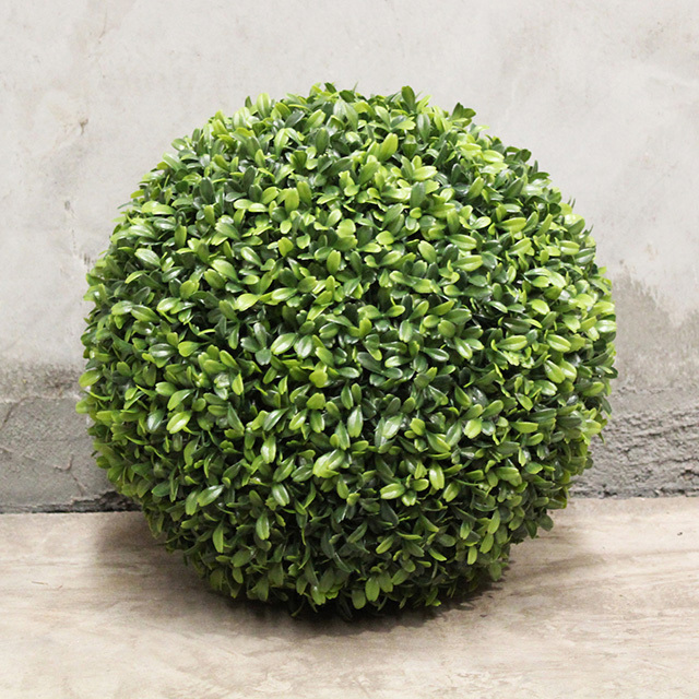 GRE0061 GREENERY, Topiary - Boxwood Ball 30cm Dia (2 Halves) $11.25