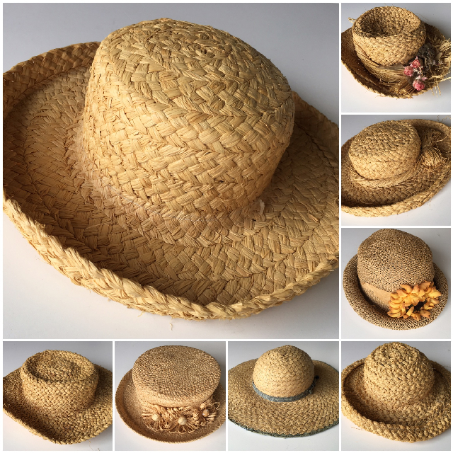 HAT0006 HAT, Ladies Straw Sun Hat $5