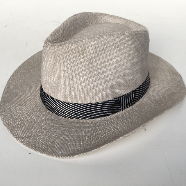 HAT0018 HAT, Mens Grey Panama $5