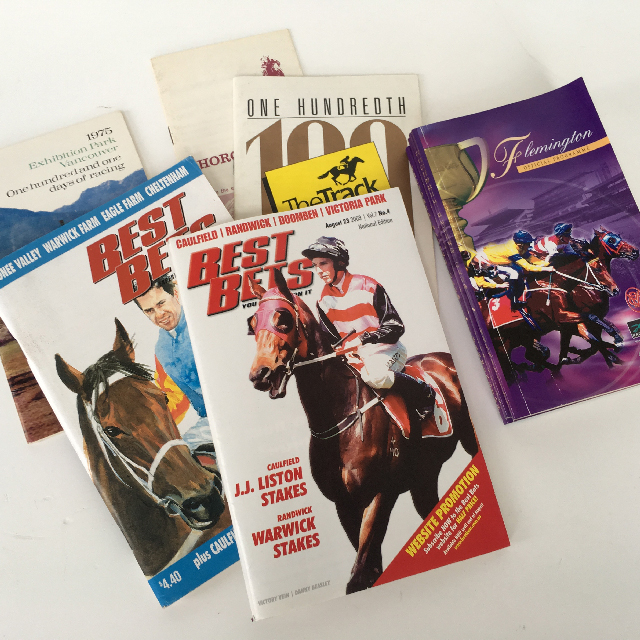 FOR0003 FORM GUIDE, Horse Racing Assorted $3