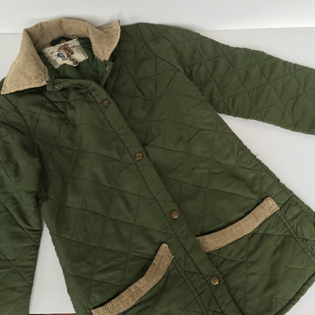 JAC0001 JACKET, Horse Riding Wear - Green L'Avenir $15