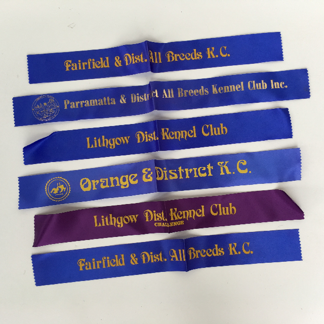 AWA0011 AWARD RIBBON, Dog Show Basic $2.50