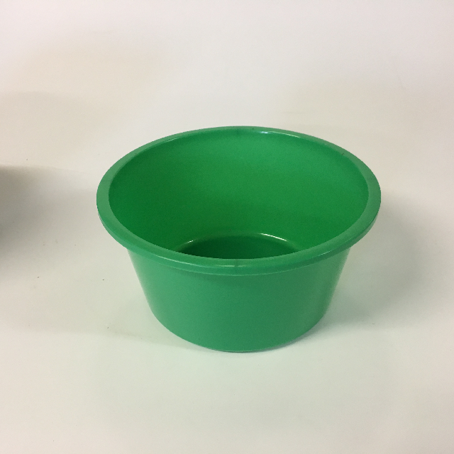 BOW0010 BOWL, Bright Green Plastic $3.75