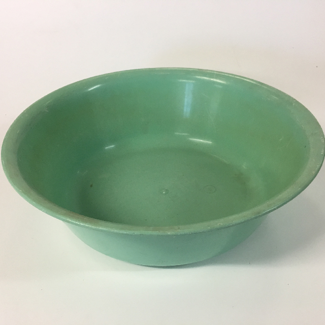 BOW0014 BOWL, Green Plastic - Large $4.50