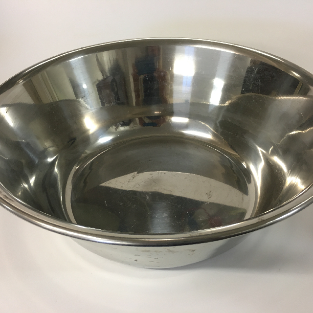BOW0017 BOWL, Stainless Steel - Large $8.75