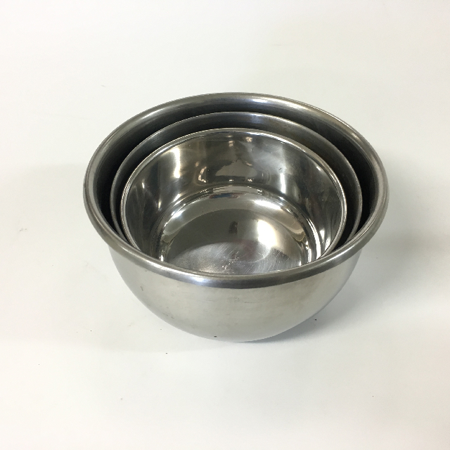 BOW0019 BOWL, Stainless Steel - Small $3.75