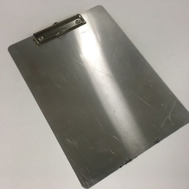 CLI0006 CLIPBOARD, Stainless Steel $3