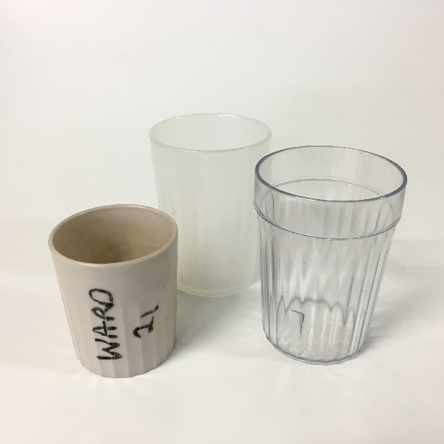 CUP0014 CUP, Medical - Plastic Assorted $0.50