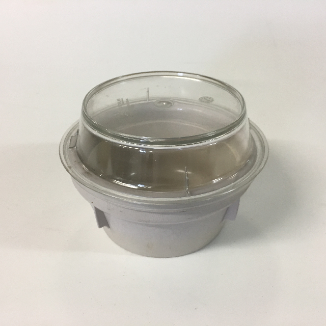 HOS0003 HOSPITAL FOOD CONTAINER, Beige Set - Small w Lid $3.75