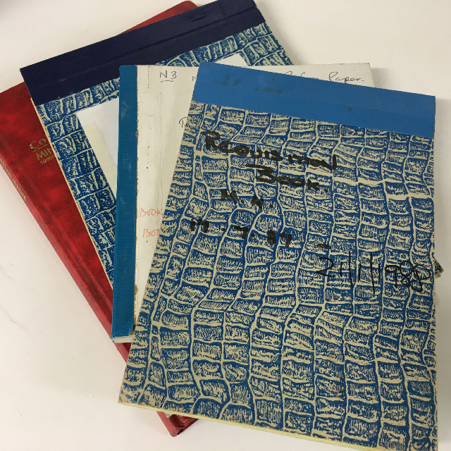 BOO0130 BOOK, Hospital Record Book - Assorted $2.50