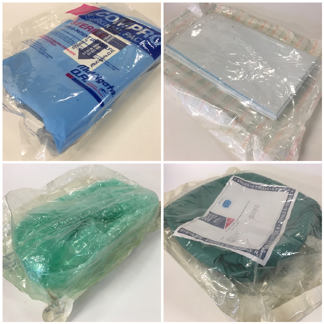 MED0084 MEDICAL SUPPLIES, Sterile Surgical Pack In Sealed Bags (Large) $6.25