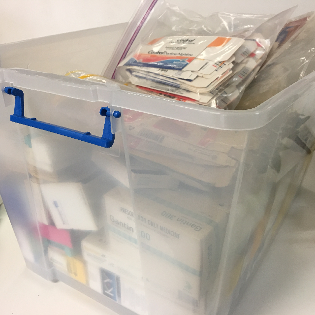 PAC0004 PACKAGING, Prescription & Dressing Boxes - Box Lot $30