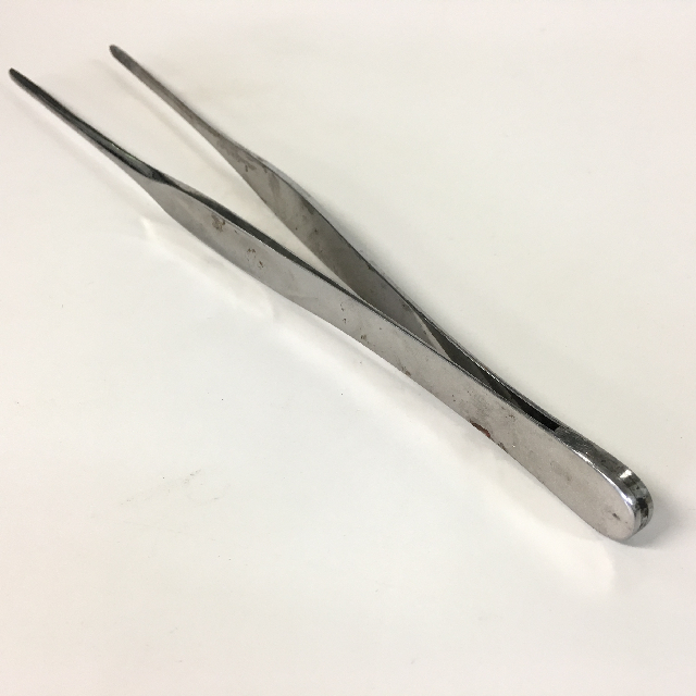 SUR0114 SURGICAL INSTRUMENT, Stainless Steel - Tweezer Large $3.75