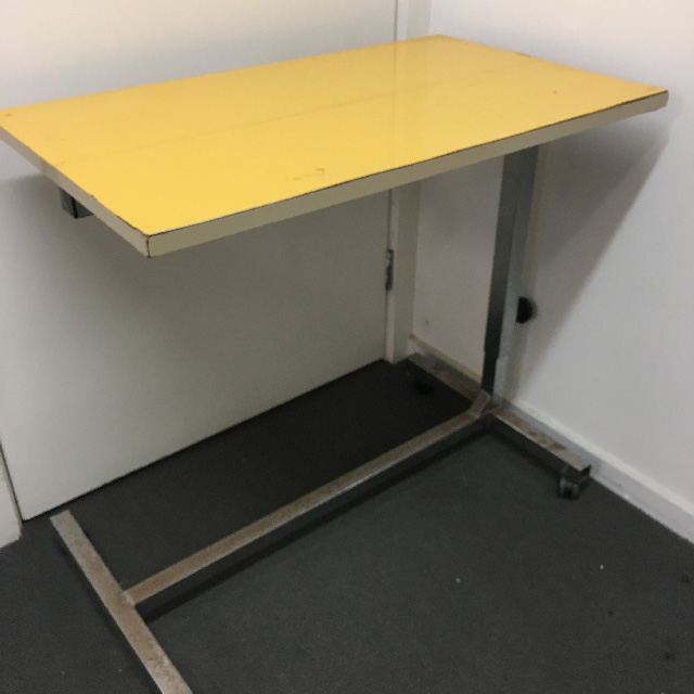TAB0040 TABLE, Over Bed Hospital - Yellow $30