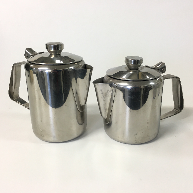 TEA0008 TEA POT, Stainless Steel - Small Cafeteria Style $5