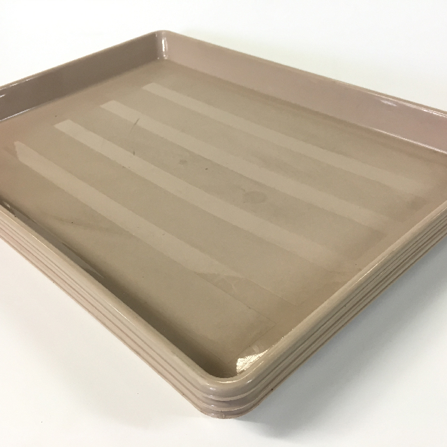 TRA0015 TRAY, Beige - Deep Cafeteria Style $5
