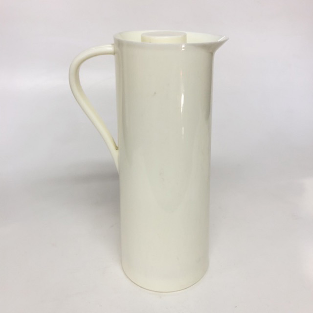 COF0014 COFFEE POT, Thermos Jug - White Plastic $7.50