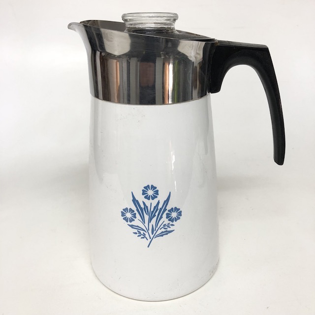 COF0015 COFFEE POT, White Corningware $10