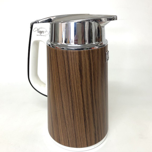 COF0016 COFFEE POT, Woodgrain $10
