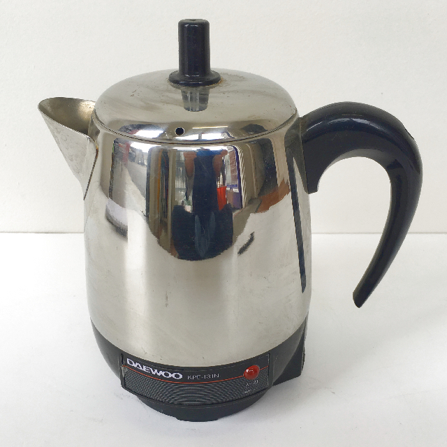 KET0022 KETTLE, Electric Chrome Daewoo $7.50
