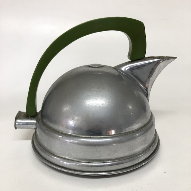 KET0026 KETTLE, Electric Deco Style Green Handle $12.50