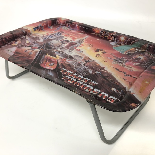 TAB0091 TABLE TRAY, 1980's Transformers Design $7.50