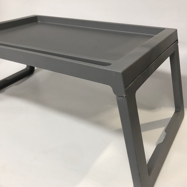 TAB0093 TABLE TRAY, Grey Plastic $7.50