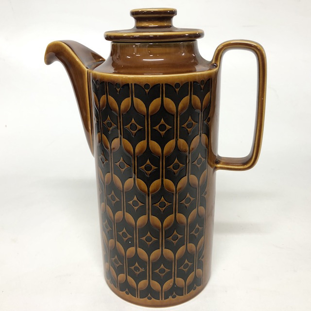 TEA0025 TEA POT, 1970's Brown $12.50