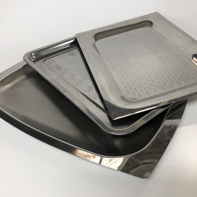 TRA0065 TRAY, Stainless Steel - Medium Large $6.25