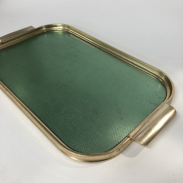 TRA0040 TRAY 1950's Gold Green $6.25