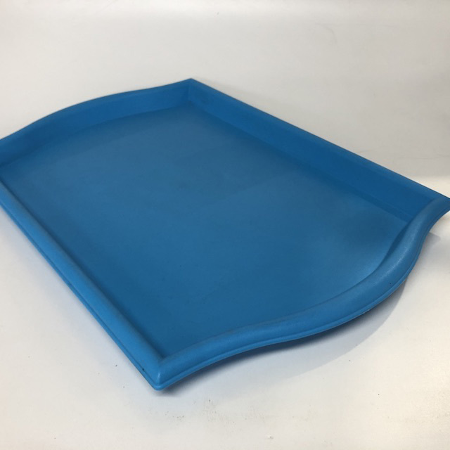 TRA0073 TRAY, Bright Blue Plastic $3.75