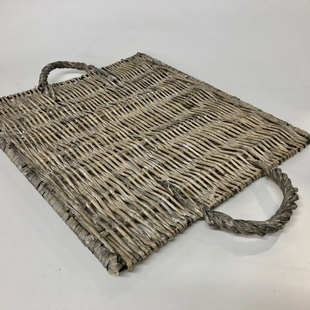 TRA0080 TRAY - Flat Wicker $5