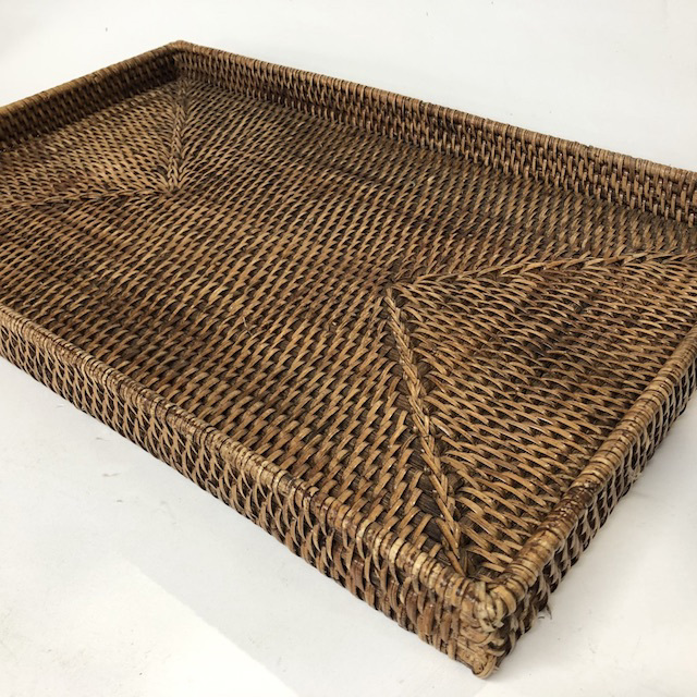 TRA0035 TRAY, Wicker - Large $11.25
